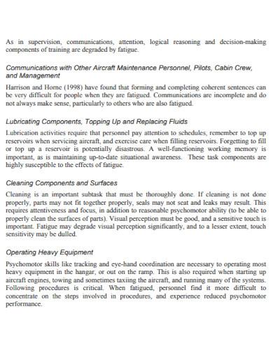 aircraft maintenance risk assessment