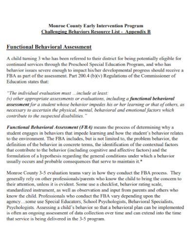 behavioral assessment in pdf
