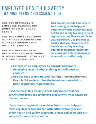 employee training needs assessment