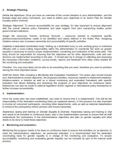 gender equality organizational assessment