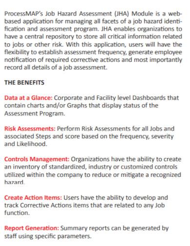 job hazard risk assessment