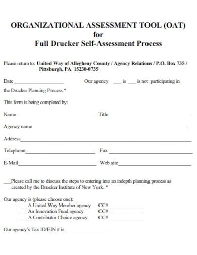 organizational self assessment1