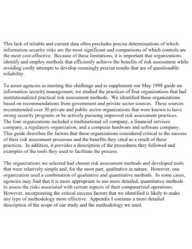 organizations security risk assessment1