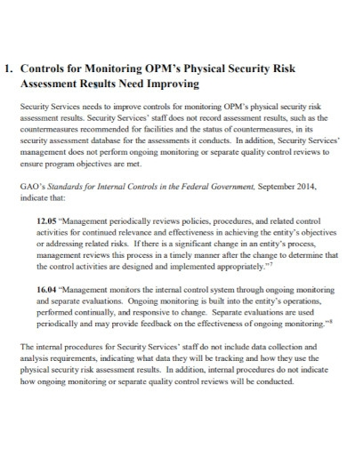 physical security risk assessment1