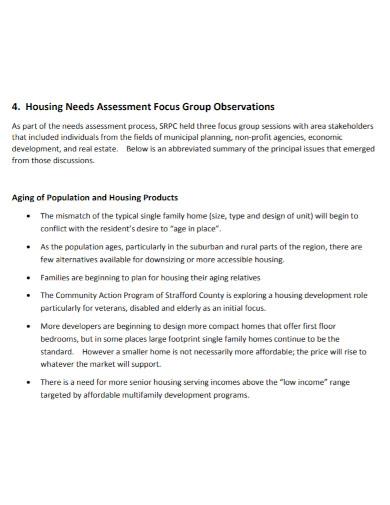 regional housing needs assessment