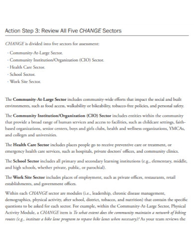 standard community health assessment