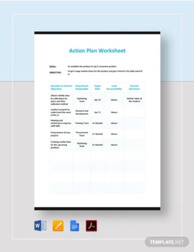 action plan worksheet template1