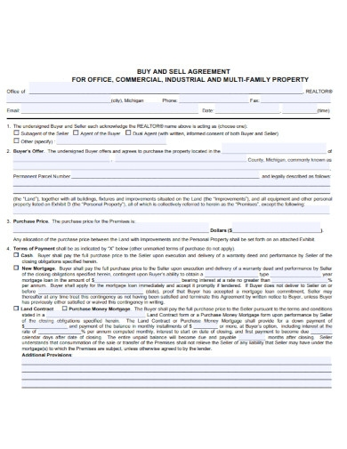 buyer seller agreement template