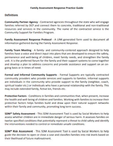 community family assessment