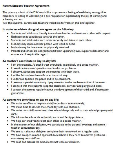 teacher student agreement