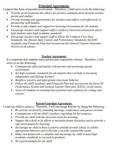 teacher student compact agreement