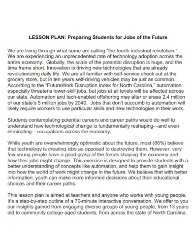 student lesson plan in pdf