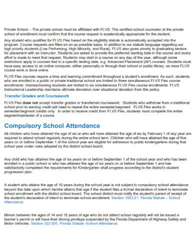 virtual school student progression plan