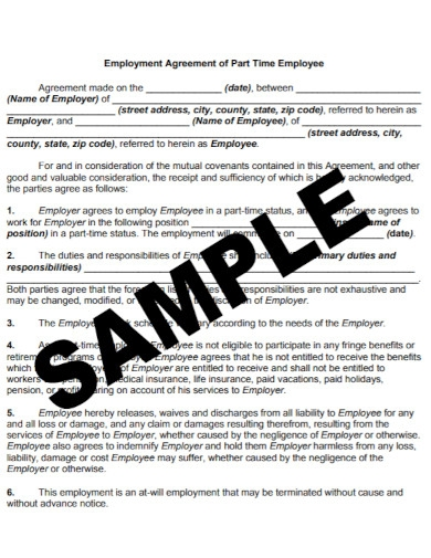 basic contract employment agreement