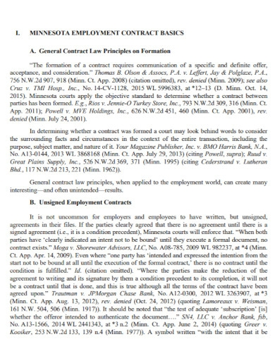draft contract employment agreement